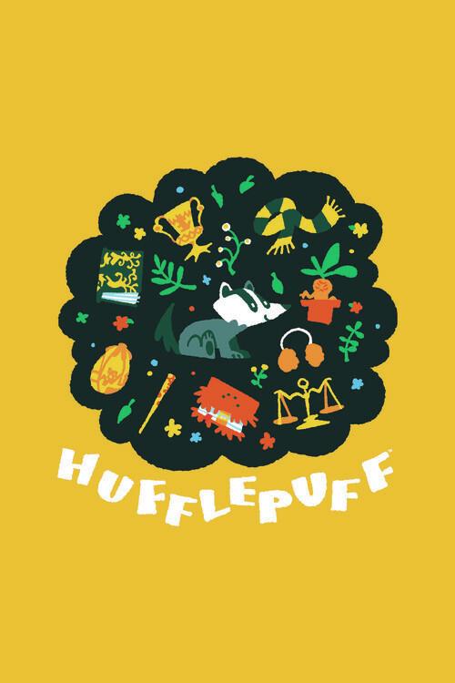 Wallpaper Mural Harry Potter - Hufflepuff