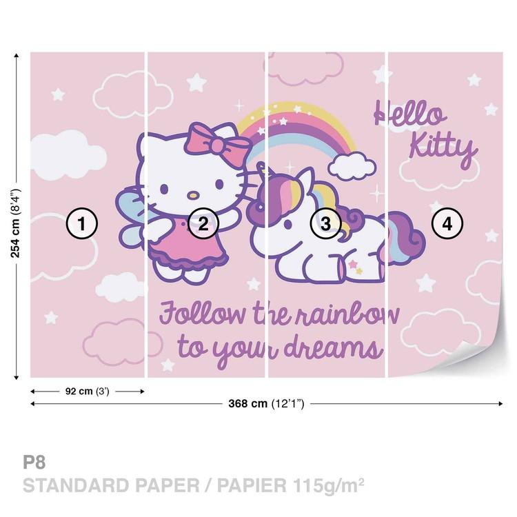 Hello Kitty Wallpaper Mural