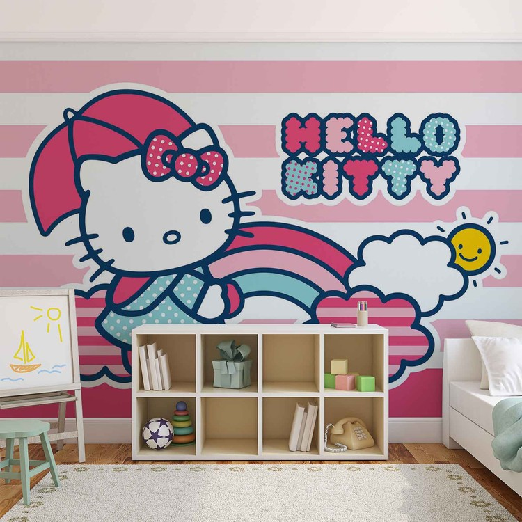 Hello Kitty Wallpaper Mural