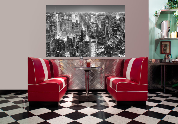 HENRI SILBERMAN - empire state building, east view Wallpaper Mural