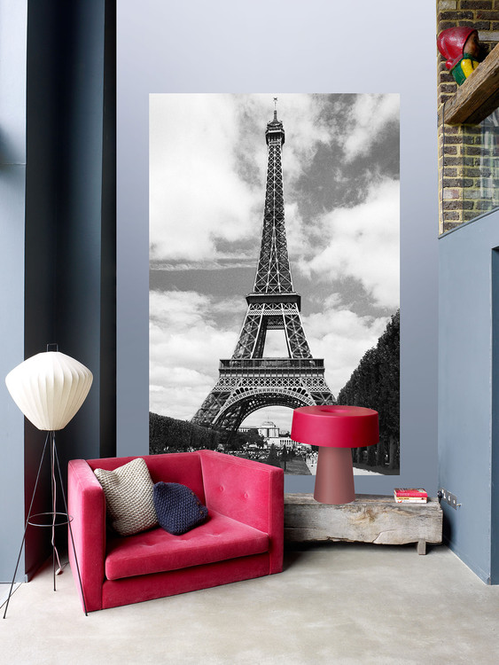 HENRI SILBERMAN - tour eiffel Wallpaper Mural