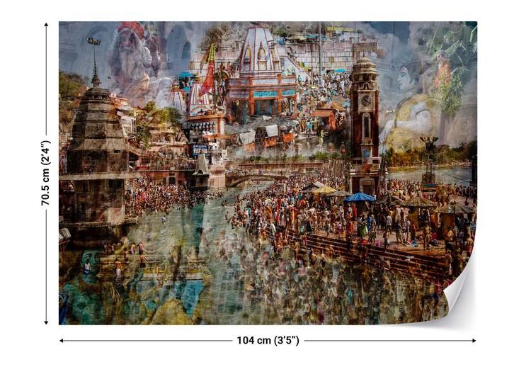 Holy India Wallpaper Mural