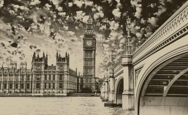 Houses of Parliament City Wallpaper Mural