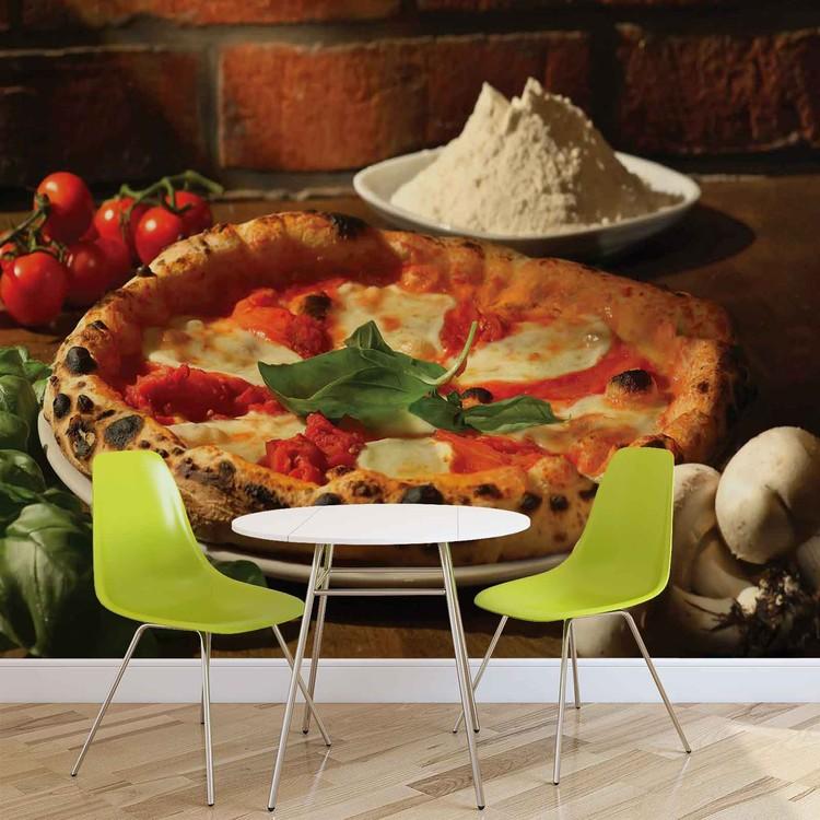 Italian Food Restaurant Wallpaper Mural