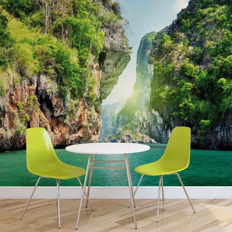 Lagoon Wallpaper Mural