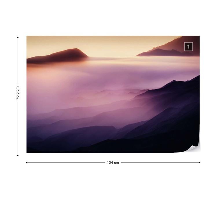 Land Of Fog Wallpaper Mural
