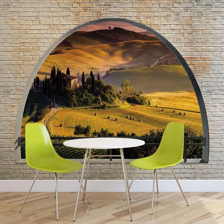 Landscape Nature Arch View Wallpaper Mural