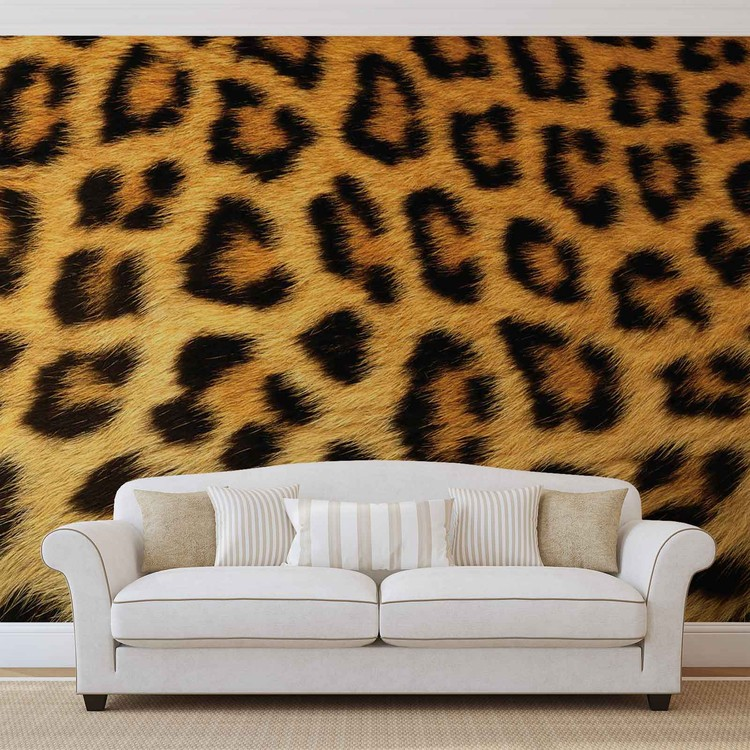 Leopard Wallpaper Mural