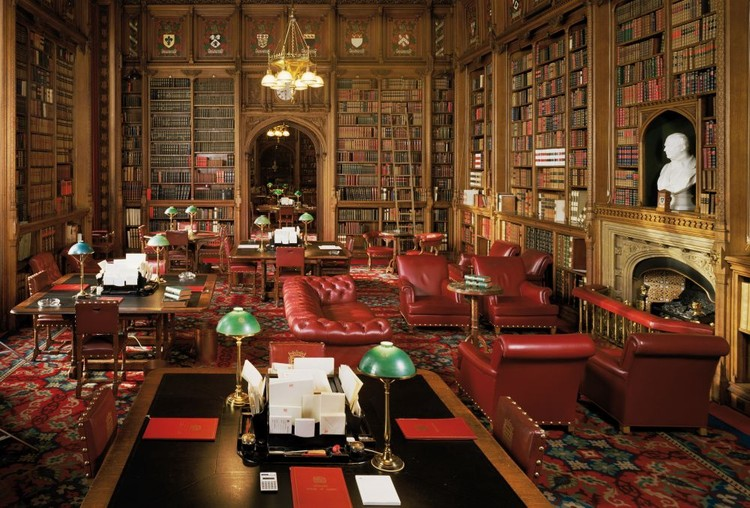 Library - House of Lords Wallpaper Mural