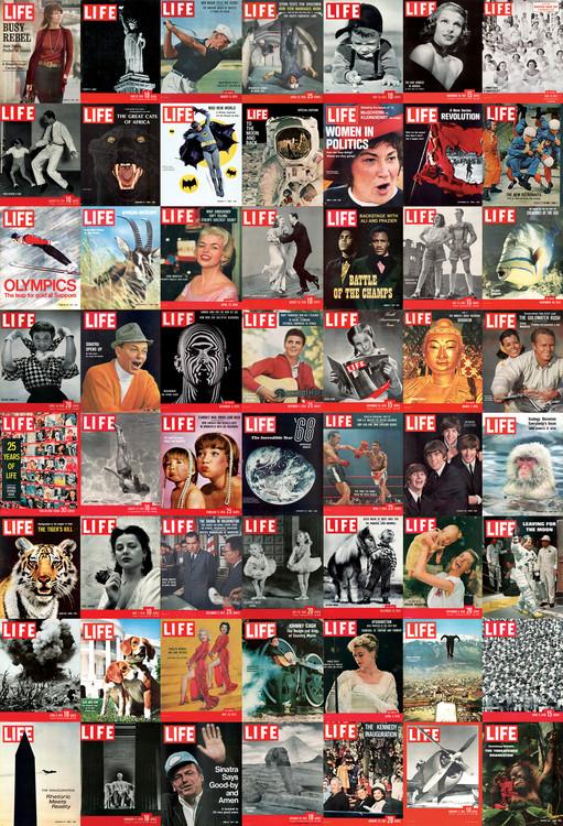 LIFE photos Wallpaper Mural