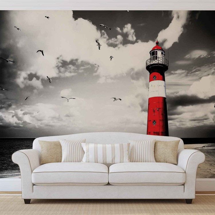 Lighthouse Wallpaper Mural