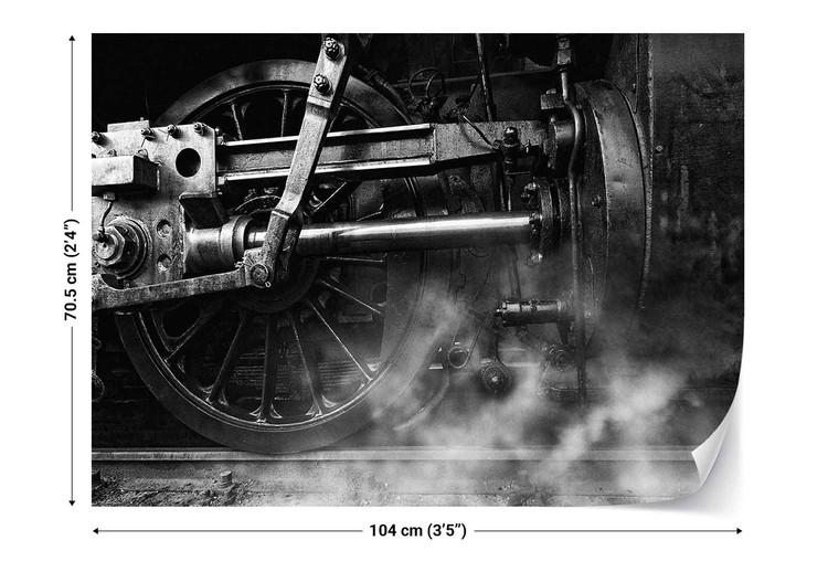 Locomotive Breath Wallpaper Mural