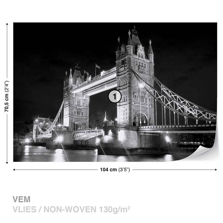 London Tower Bridge Wallpaper Mural