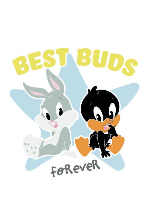 Wallpaper Mural Looney Tunes - Best buds
