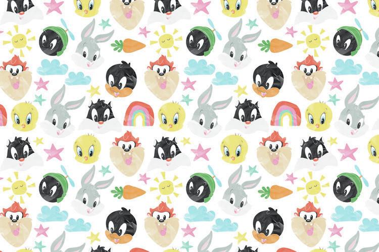 Wallpaper Mural Looney Tunes - Little crew