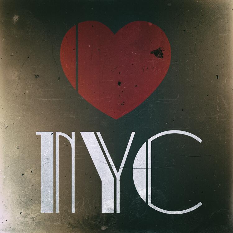 Wallpaper Mural Love NYC