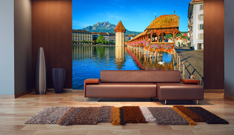 Lucerne – Switzerland Wallpaper Mural
