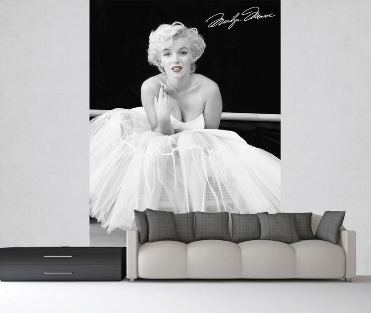 Wallpaper Mural Marilyn Monroe - White Dress