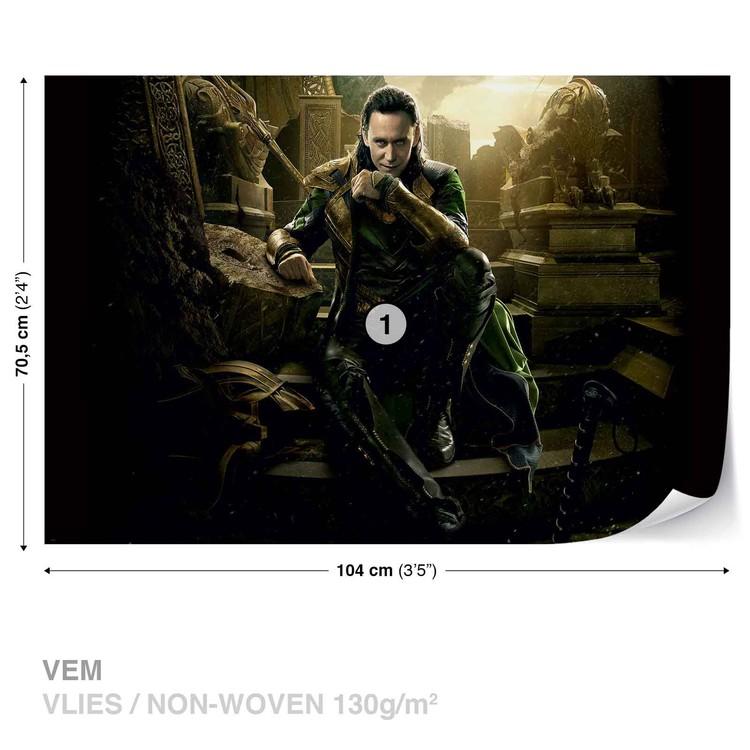 Marvel Avengers Loki Wallpaper Mural