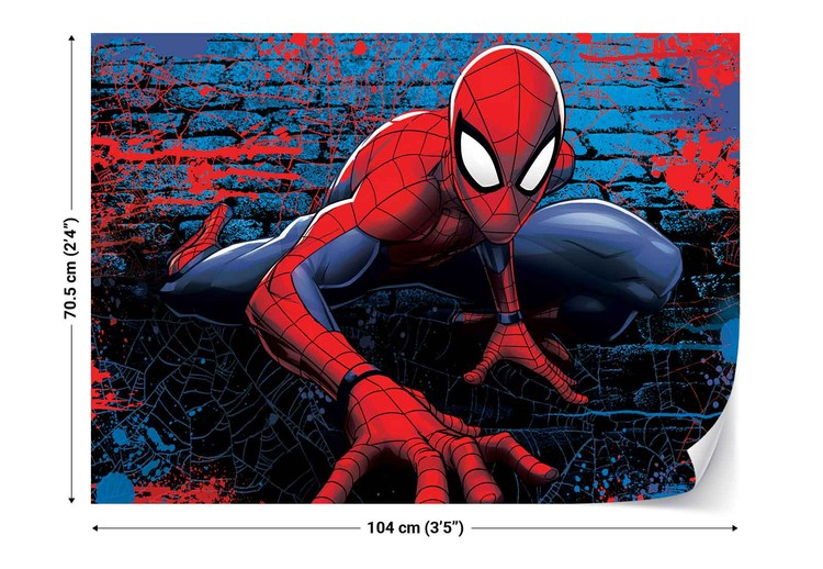 Marvel Spiderman 10587 Wall Paper Mural Buy At Europosters