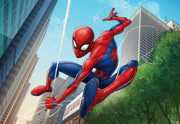 Marvel Spiderman 10590 Wall Paper Mural Buy At Europosters