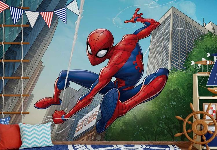 Marvel spiderman 10590 wall paper mural buy at europosters - Marvel spiderman comics pdf ...