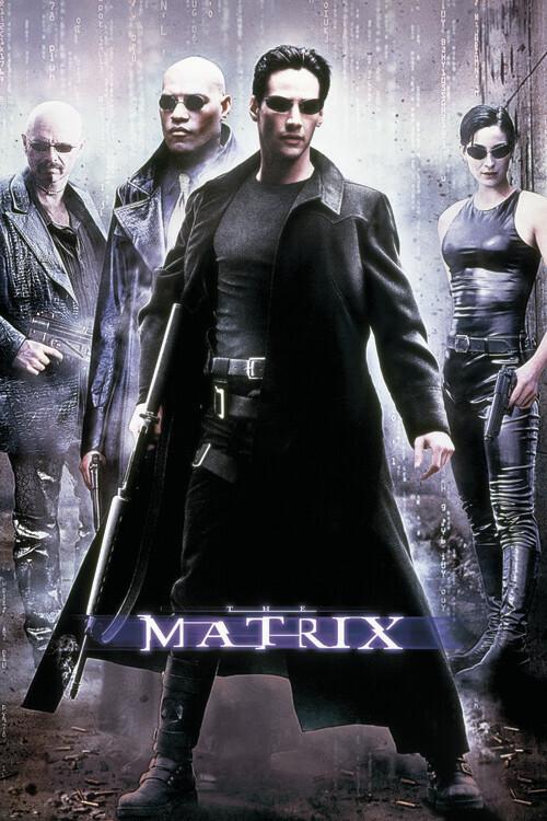 Wallpaper Mural Matrix - Hackers