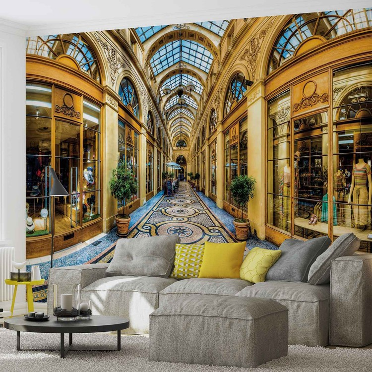 Milan City Shopping Centre Wallpaper Mural