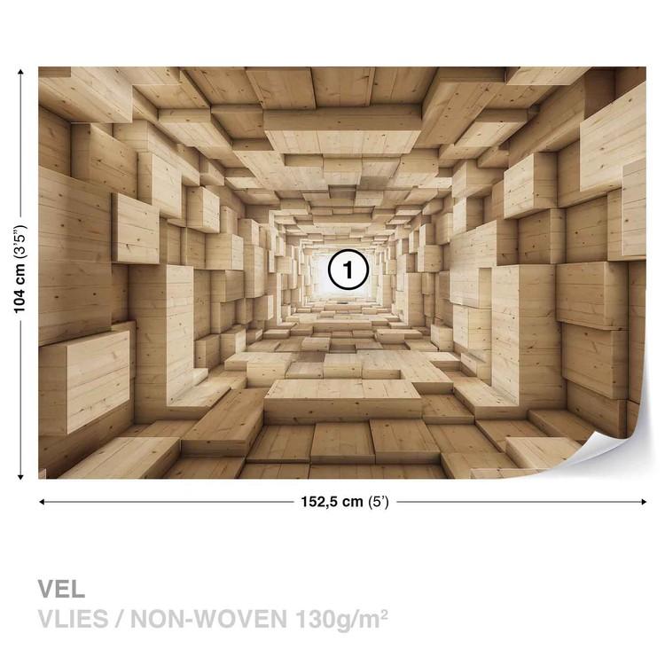 Modern Abstract Design 3D Wallpaper Mural