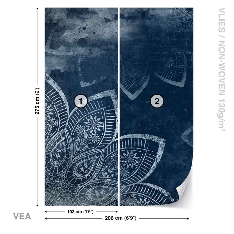 Modern Abstract Pattern Wallpaper Mural