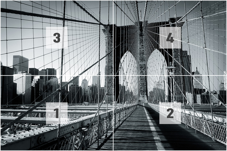 New York Brooklyn Bridge Wall Mural Buy at EuroPosters
