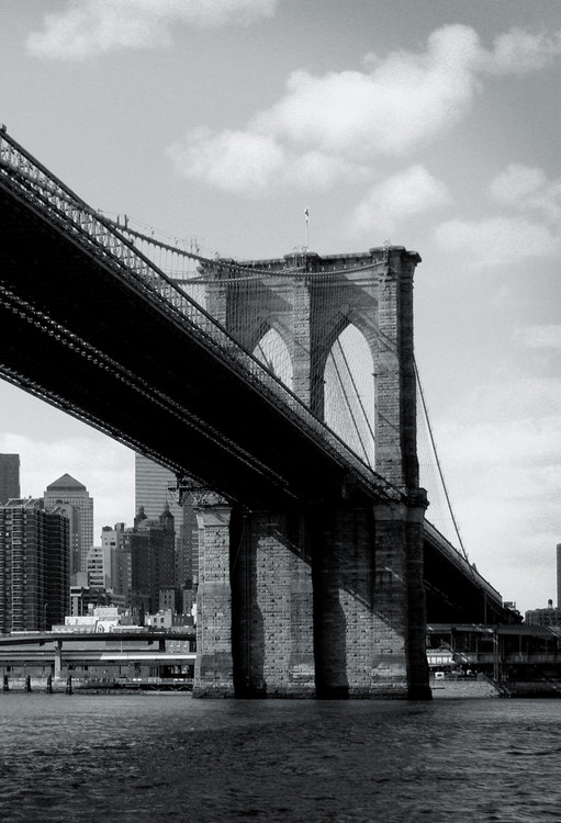 New York - Brooklyn Bridge Wallpaper Mural