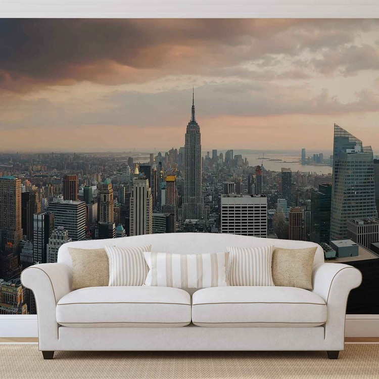 New York City Empire State Building Wall Paper Mural   Buy at ...