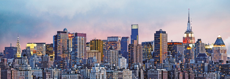 NEW YORK SKYLINE Wallpaper Mural