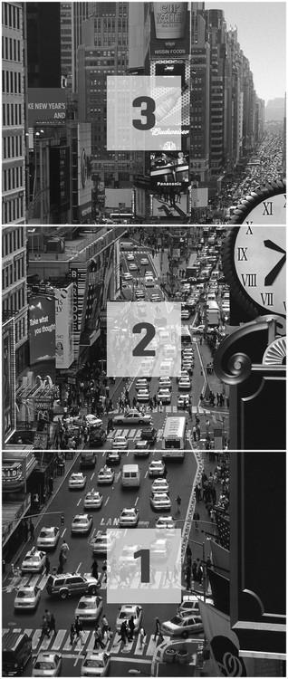 New York Times Square Night Wallpaper Mural