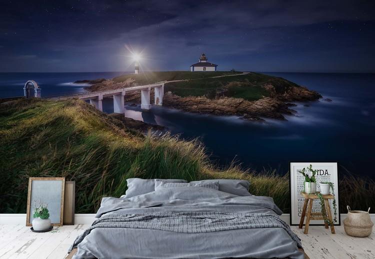 Nightscape In Isla Pancha Wallpaper Mural