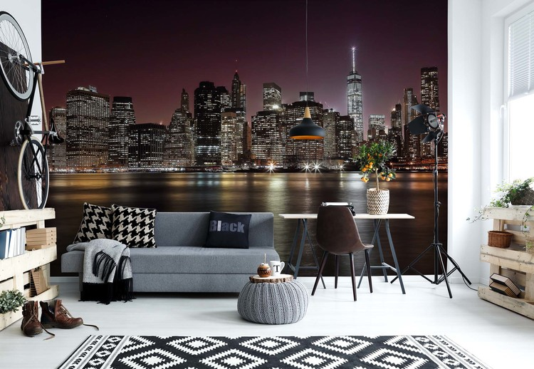 Nyc Skyline Wallpaper Mural