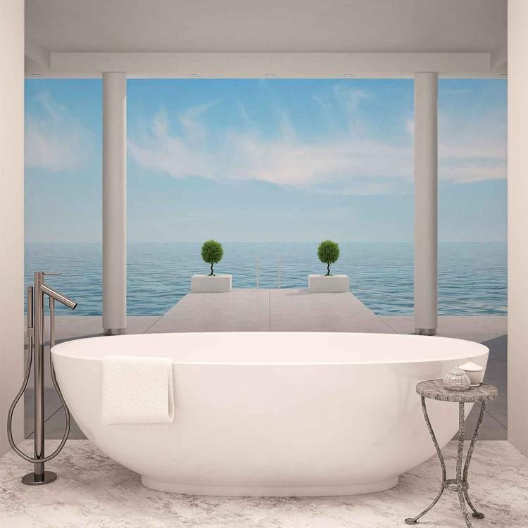 Ocean View Wallpaper Mural