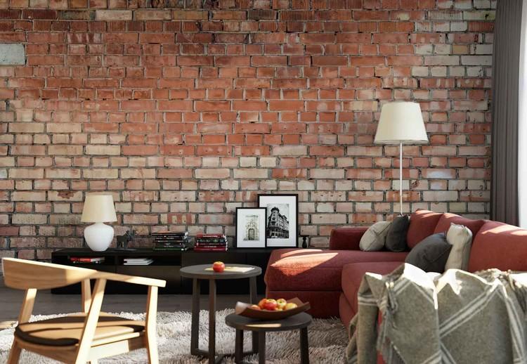 Old Brick Wallpaper Mural