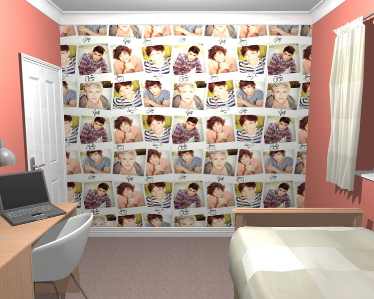 One Direction - Collage Wallpaper Mural