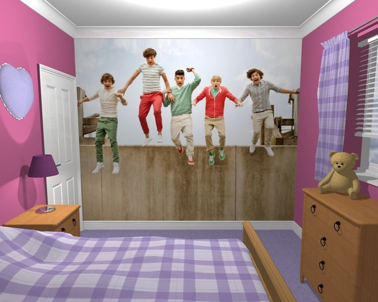 One Direction - Jump Wallpaper Mural