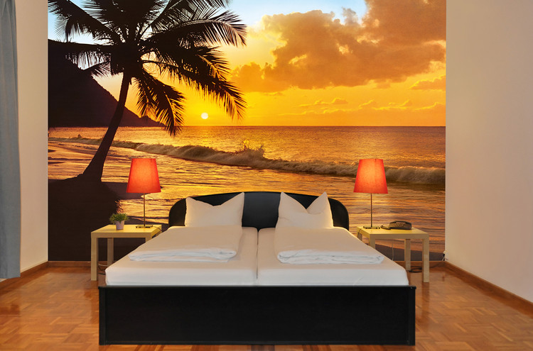 PACIFIC SUNSET Wallpaper Mural