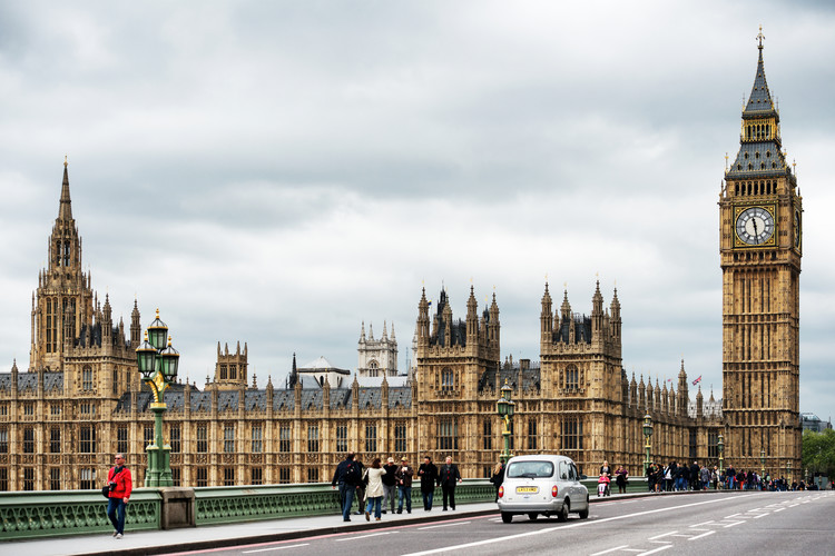 Palace of Westminster and Big Ben Wallpaper Mural