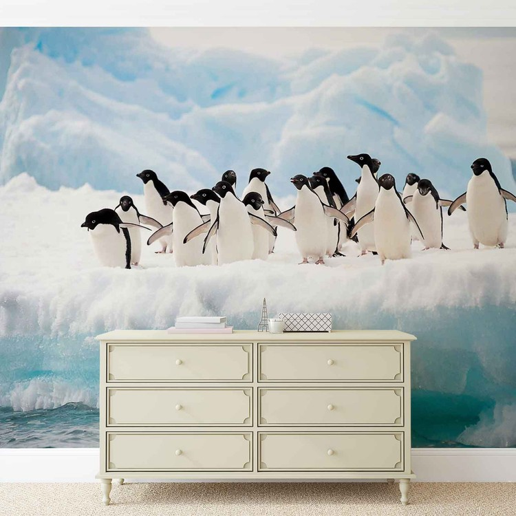 Penguins Wallpaper Mural