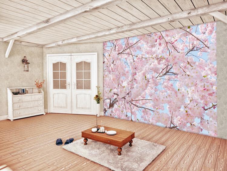 Pink Blossoms Wallpaper Mural