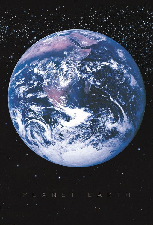 Planet Earth - Space Wallpaper Mural