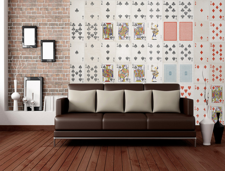 Playing Cards Wallpaper Mural