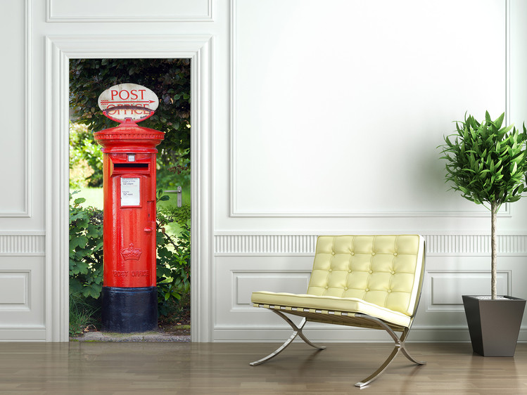 POSTBOX Wallpaper Mural