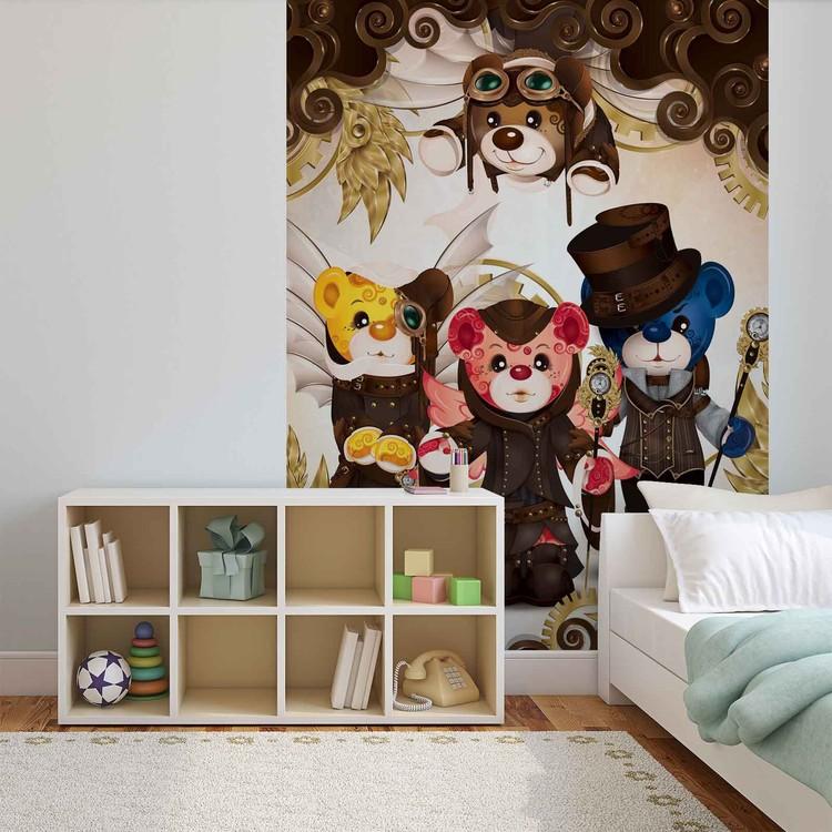 Rainbow Bears Care Bears Wallpaper Mural