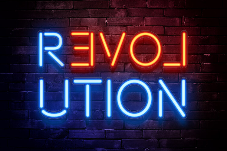 Revolution Wallpaper Mural